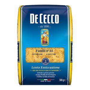 DE CECCO FUSILLI No34 500gr